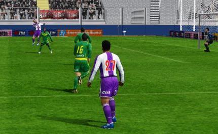 Manco le puso un balón 'con la mano' a Maestri para que este anotara de cabeza el tercer tanto aliancista (Imagen: Diego Rodríguez / Peru Evolution Soccer)
