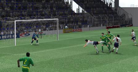 El japonés Sawa liquidó el partido con esta 'palomita' (Imagen: Martín Velásquez / Peru Evolution Soccer)