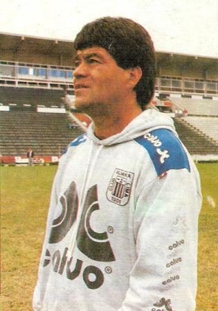 Arrué cuando llegó por primera vez a Matute en julio de 1992 (Foto: Estadio)