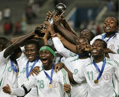 Las 'aguilitas verdes' celebran su tercer título mundial (Foto: FIFA.com)