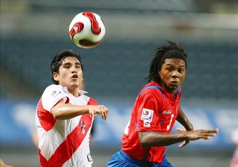 Ávila fue incisivo en los remates desde fuera (Foto: FIFA.com)