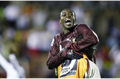 El portero Joseph Addo ha sido clave en la campaña ghanesa (Foto: FIFA.com)